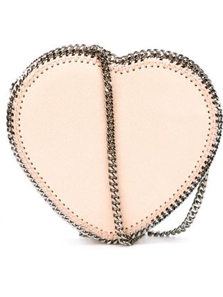 Falabella heart cross body