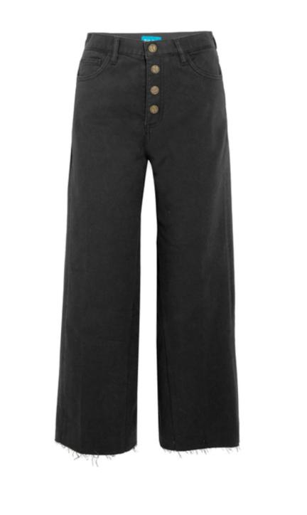 M.I.H JEANS Caron high-rise wide-leg jeans
