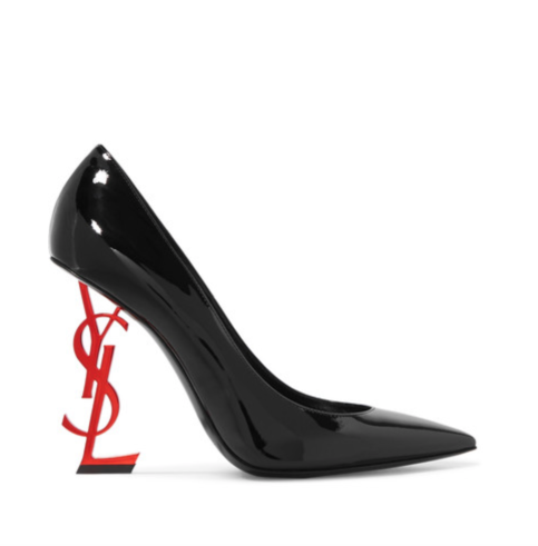 SAINT LAURENT Opyum patent-leather pumps