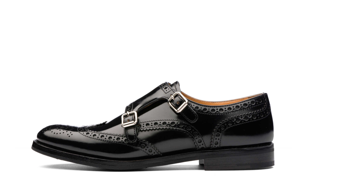 Church's Lana black leather Classic